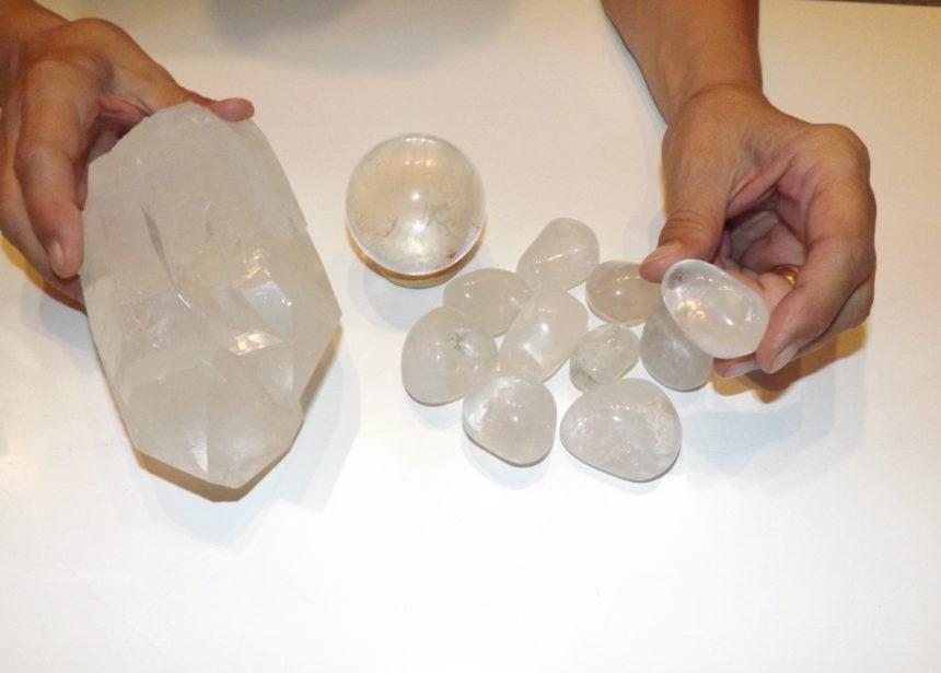 Cristallo di rocca o quarzo ialino