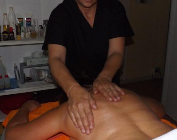 Massaggio rilassante/energizzante