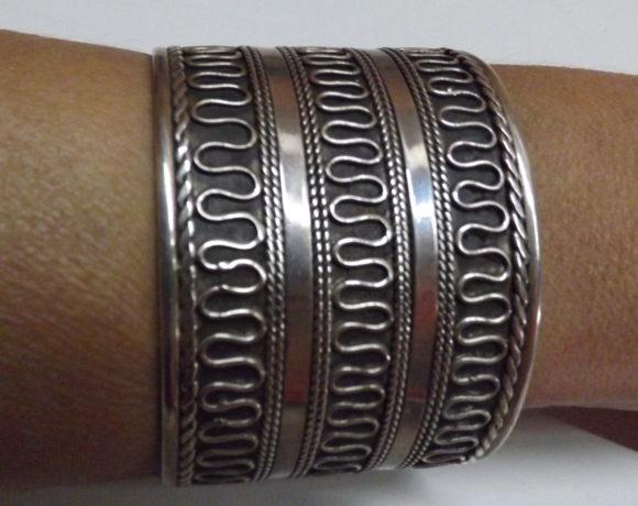 Bracciale argento 925 schiava