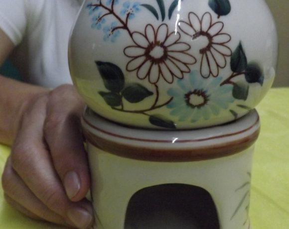 Brucia essenze ceramica
