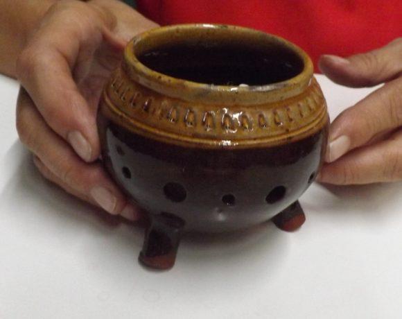 Brucia incensi tazza