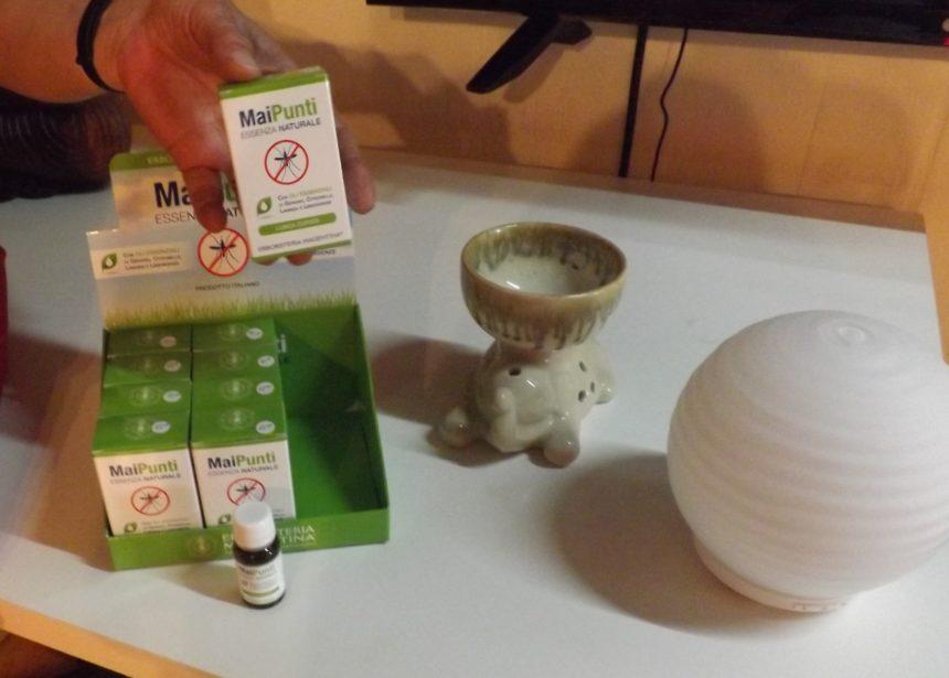 Maipunti – olio essenziale antizanzare