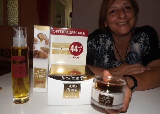 Olio d'argan + Crema viso Golden Age