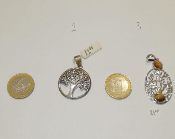 Ciondoli in argento albero della vita