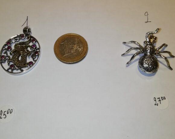 Ciondoli in argento simboli